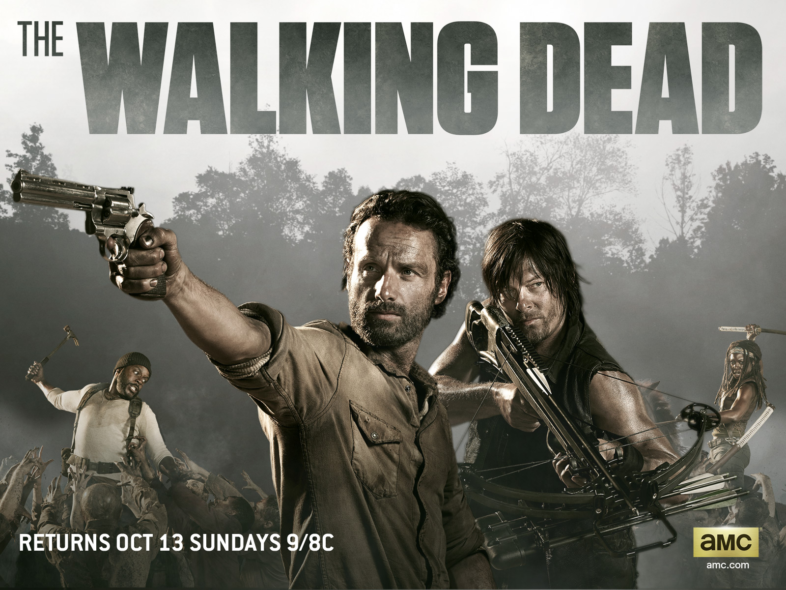 The Walking Dead season 4 wallpapers released   Movie Wallpapers 1600x1200