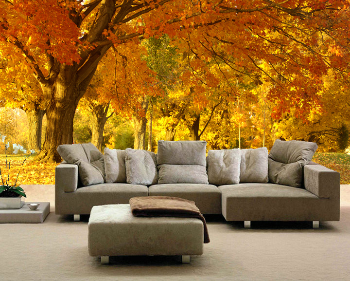scenery woods custom made 3d mural wallpaper wall papers home decor 720x577
