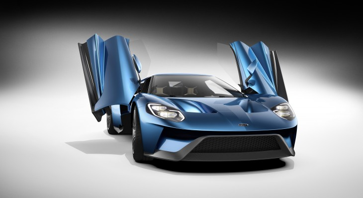 New Ford GT 2016 Open Doors 4K UHD Wallpaper WallpaperEVO Wallpapers 730x398