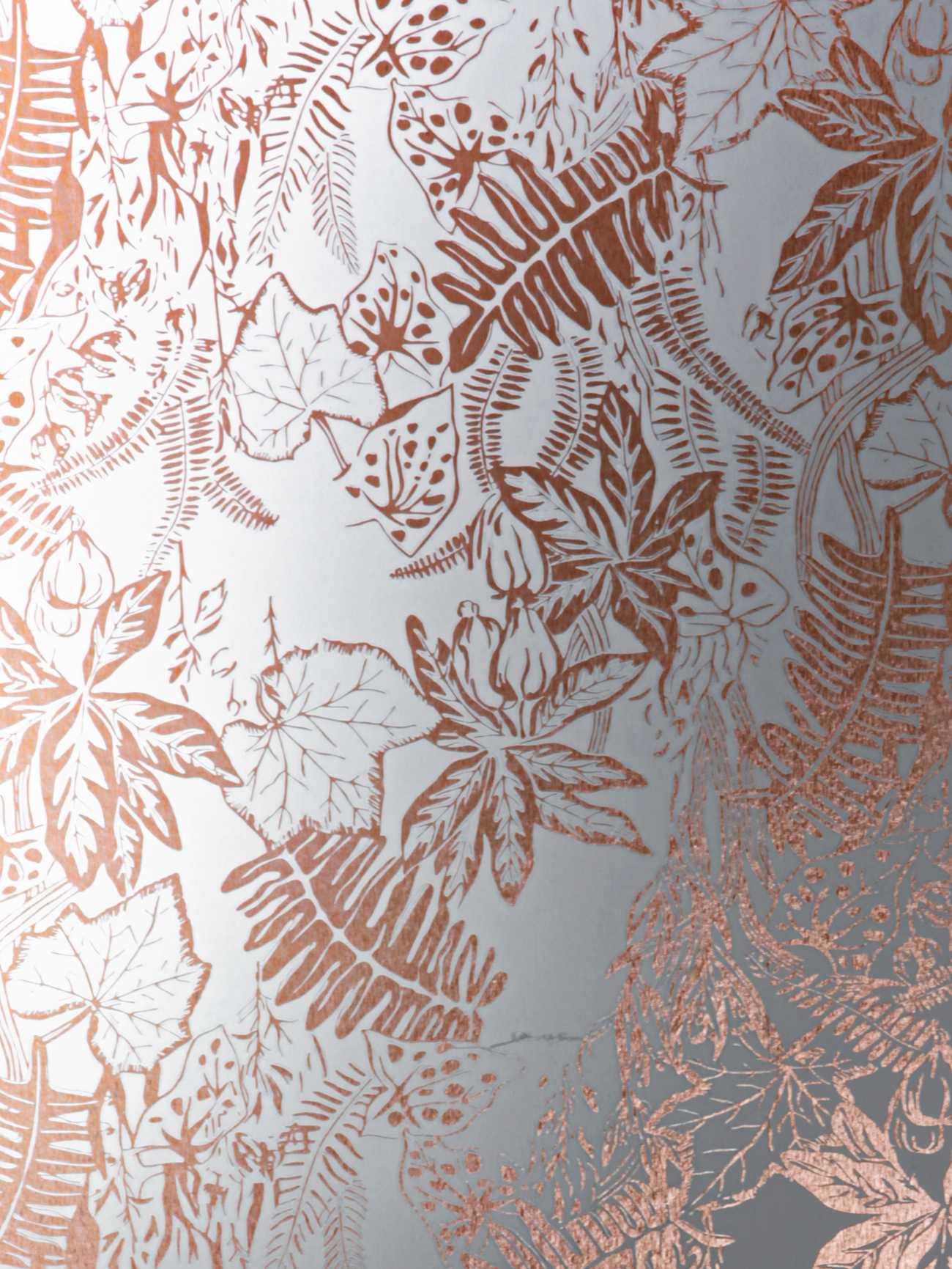 Hothouse Wallpaper   Copper Rose White Monument Interiors 1300x1731