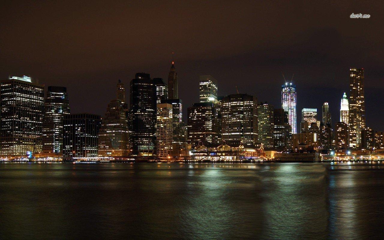 New York City skyline wallpaper - World wallpapers - #14140
