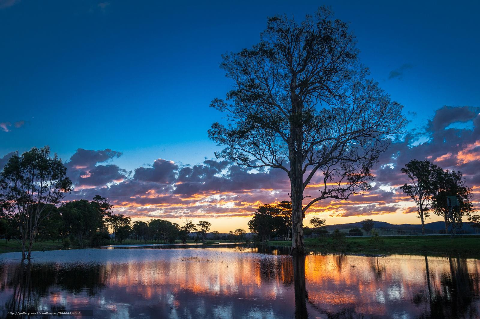 wallpaper australia Australia river sunset desktop wallpaper 1600x1066