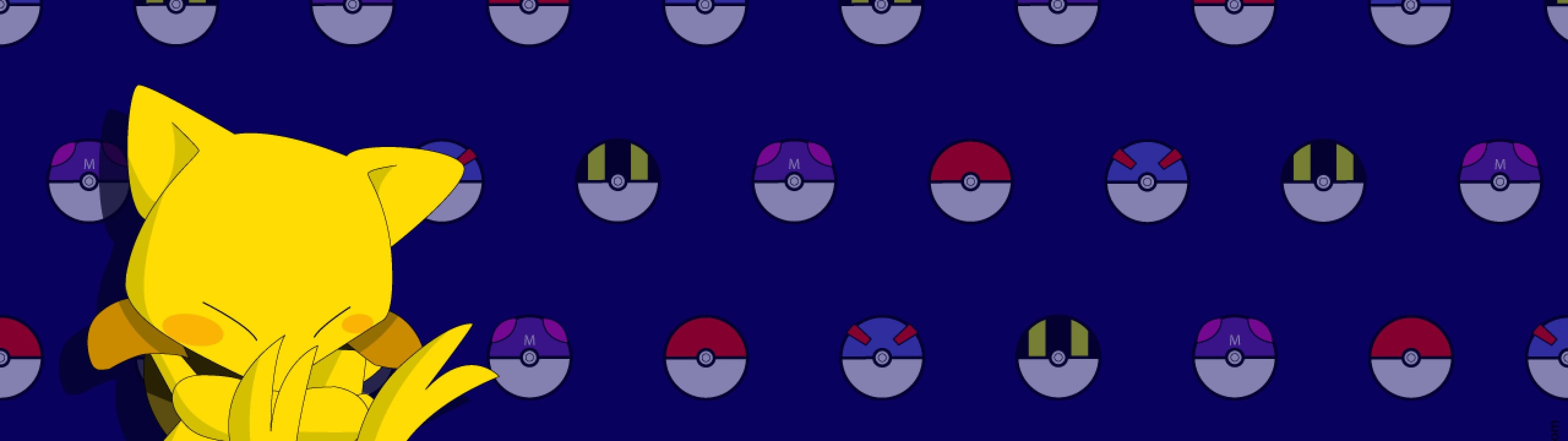 pokemon abra Q8l 3840x1080