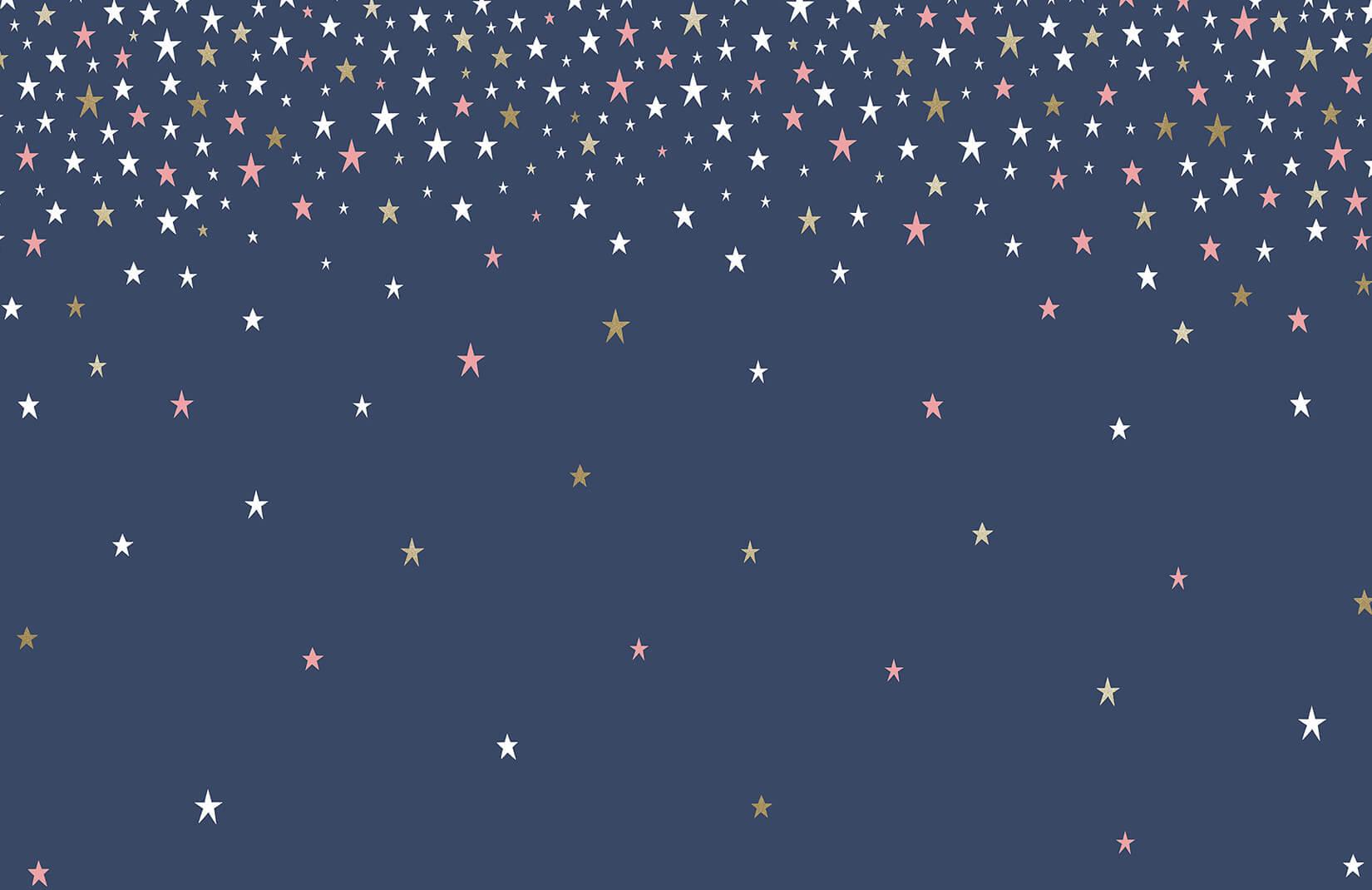 Falling Star Blue Wallpaper Mural   Murals Wallpaper 1650x1070