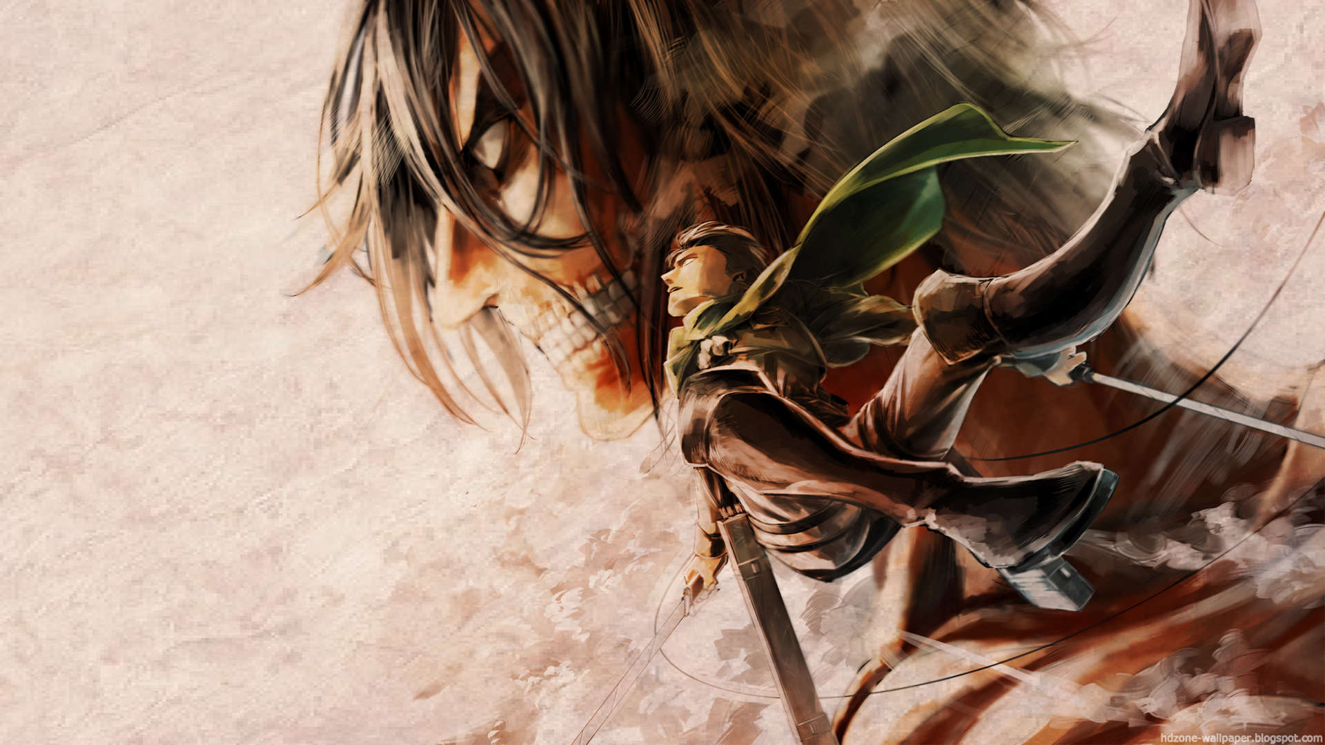 Hd Wallpaper Shingeki No Kyojin