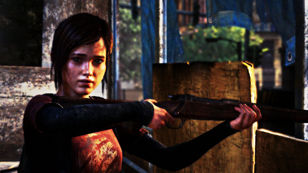 The Last Of US Ellie Wallpaper HD by TigerTarget 1024x576