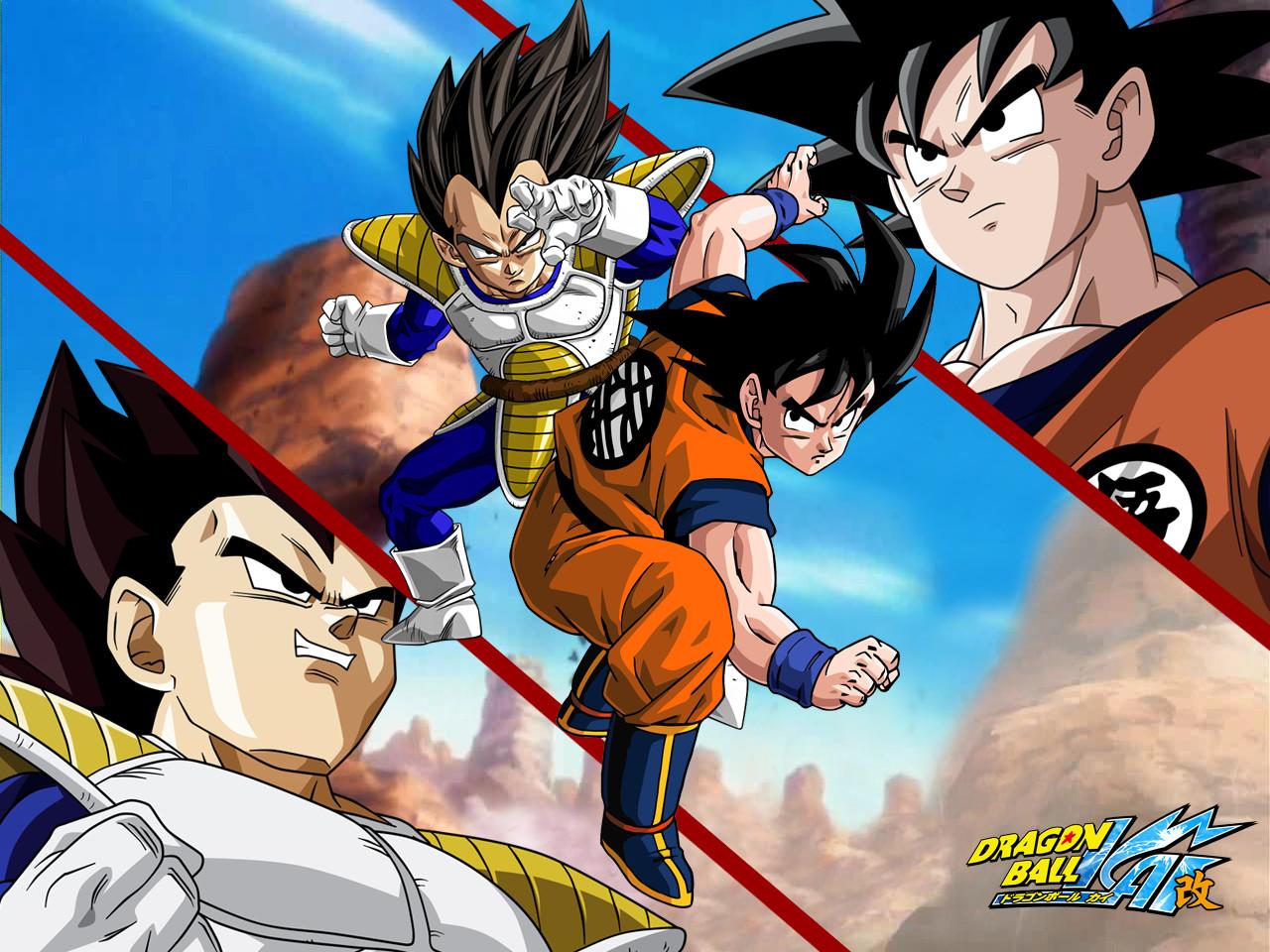 Goku vs Vegeta Wallpaper on WallpaperSafari