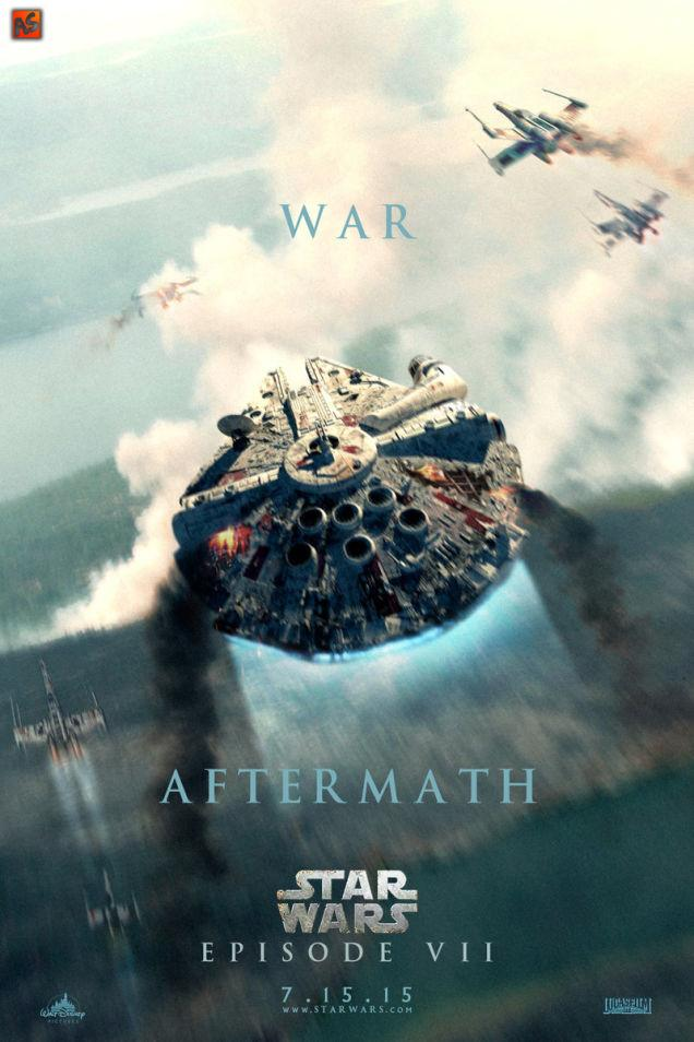 Star Wars Episode VII star wars episode vii 7 movie poster wallpaper 636x954