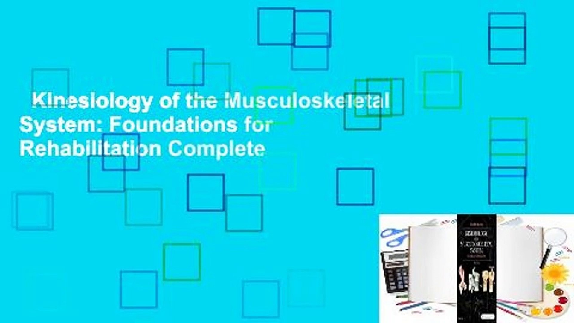 Kinesiology of the Musculoskeletal System Foundations for 1920x1080