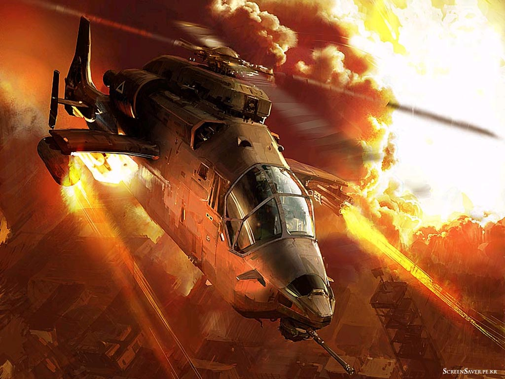 War Gunship Helicopter Wallpaper HD Wallpaper Aircraft Wallpapers 1024x768