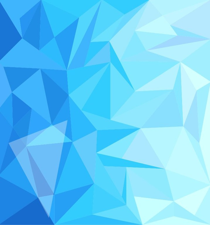 Name Blue Low Poly Design Abstract Background Vector Illustration 717x768