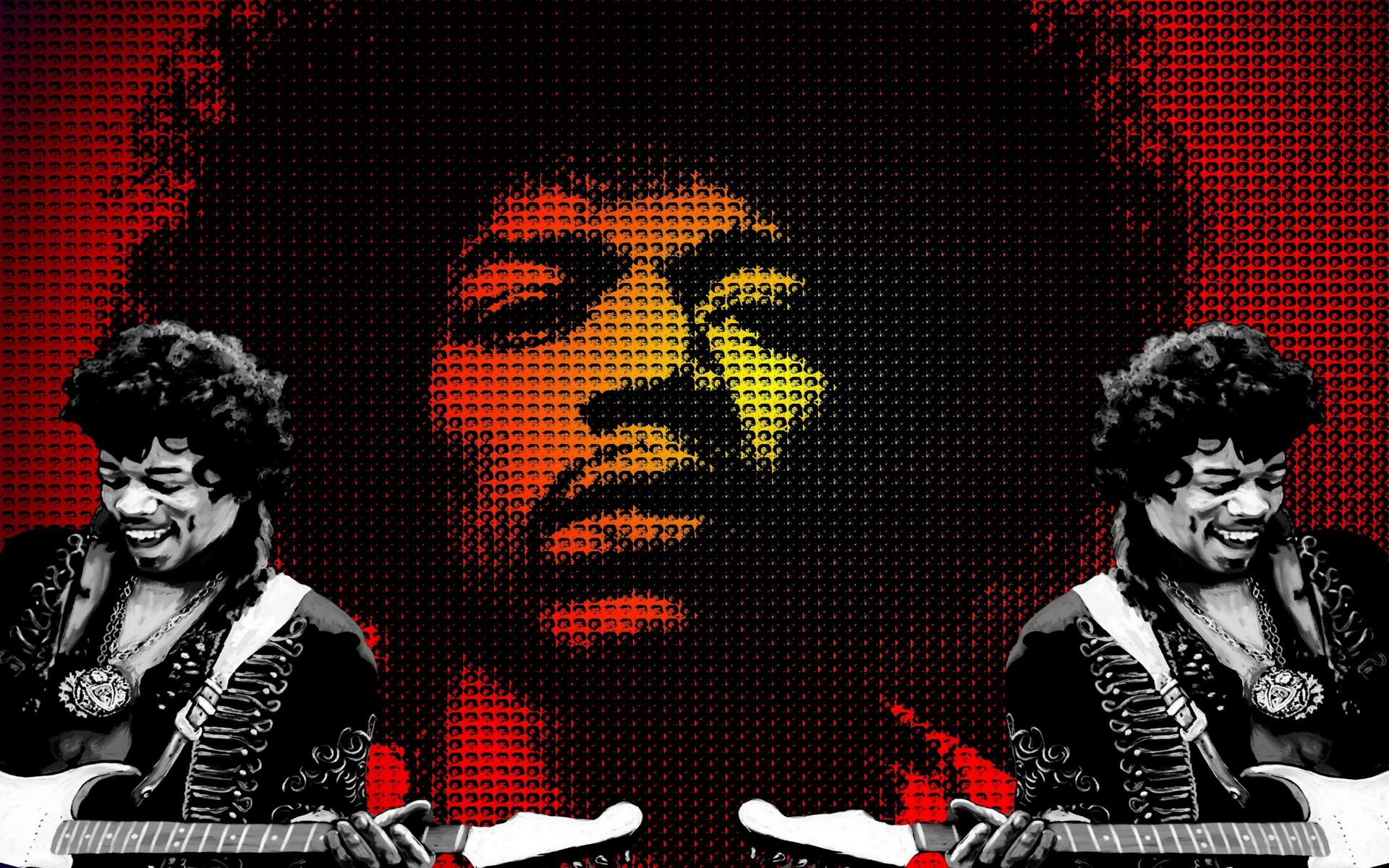Hendrix Wallpaper