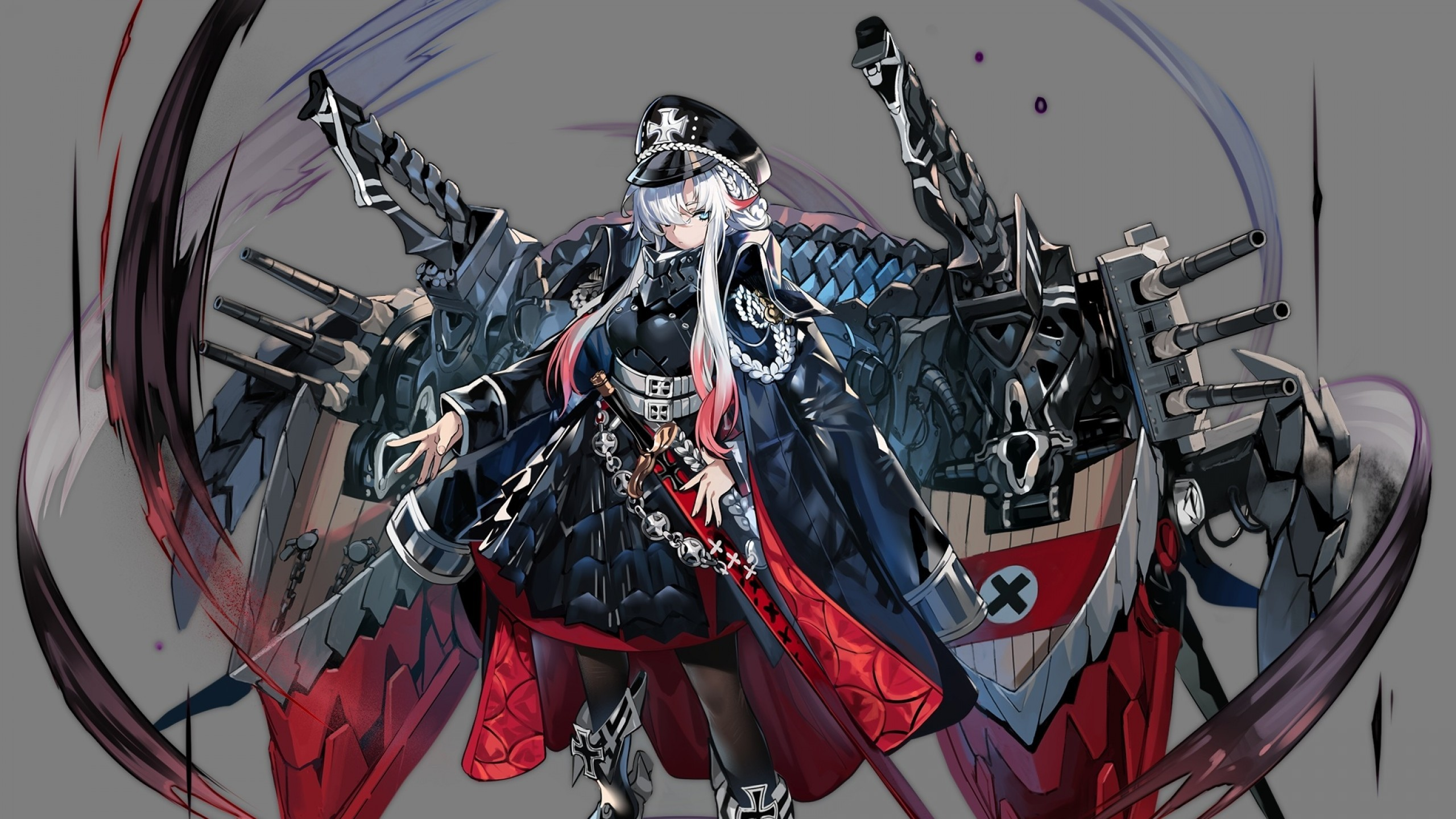 Download 2560x1440 Odin Azur Lane Anime Games Heavy Weapons 2560x1440