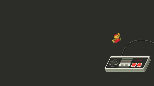 retro games 1366x768 wa Mario Wallpapers Desktop Wallpapers 600x337