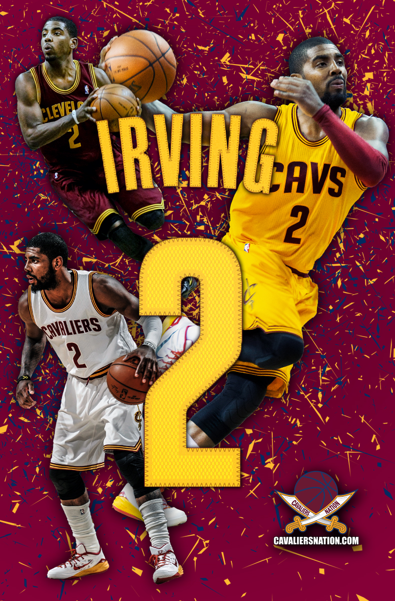 Kyrie Irving Abstract Wallpaper Cavaliers Nation 789x1200
