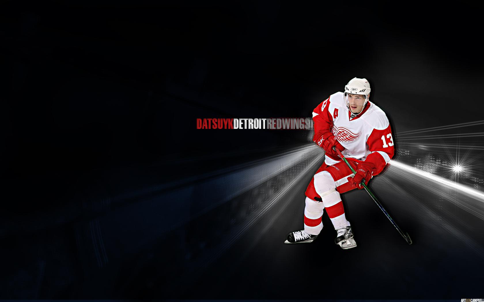 Detroit Red Wings Wallpaper Datsyuk 1680x1050