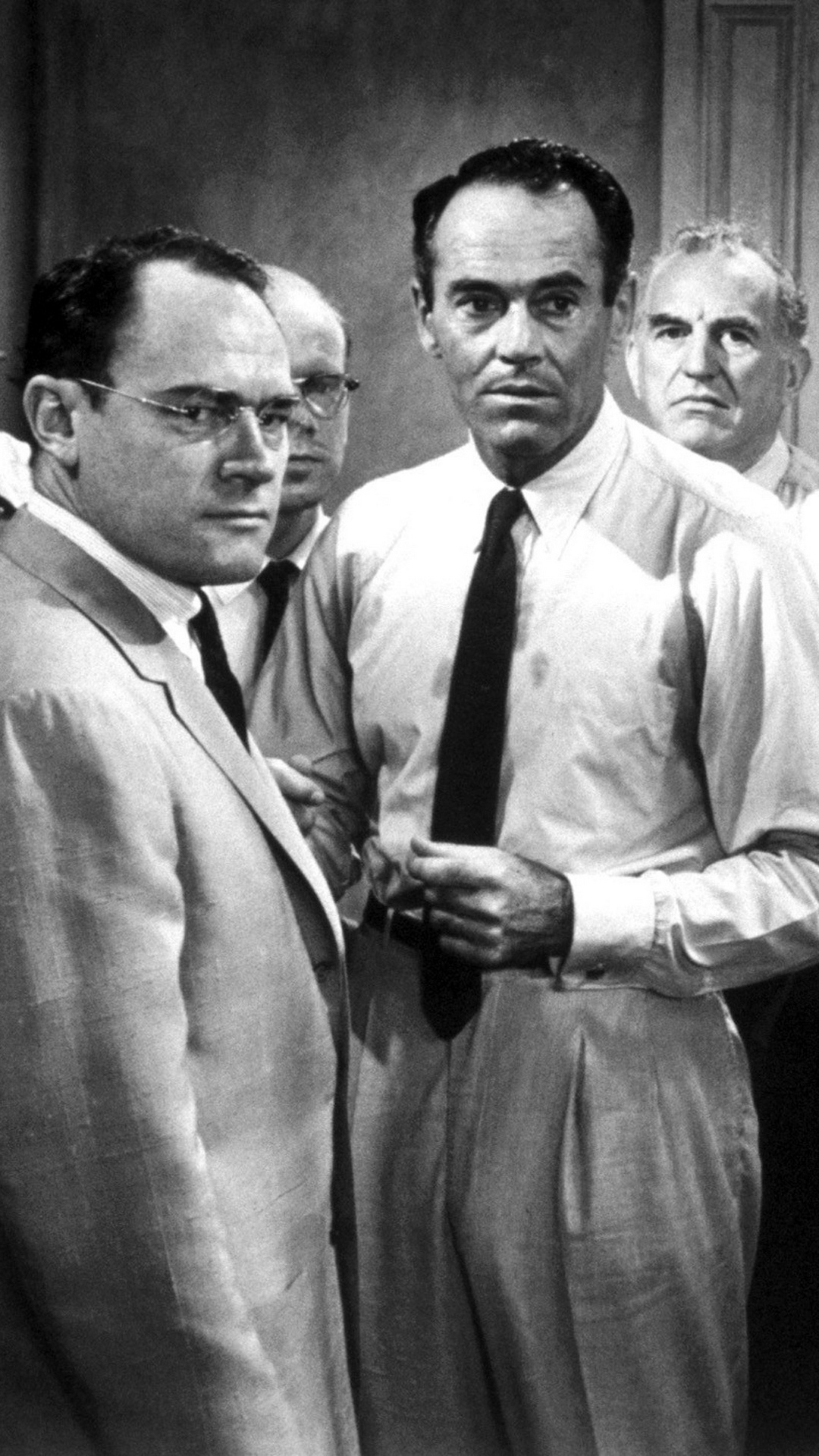 Download wallpaper 1080x1920 12 angry men men actors black 1080x1920