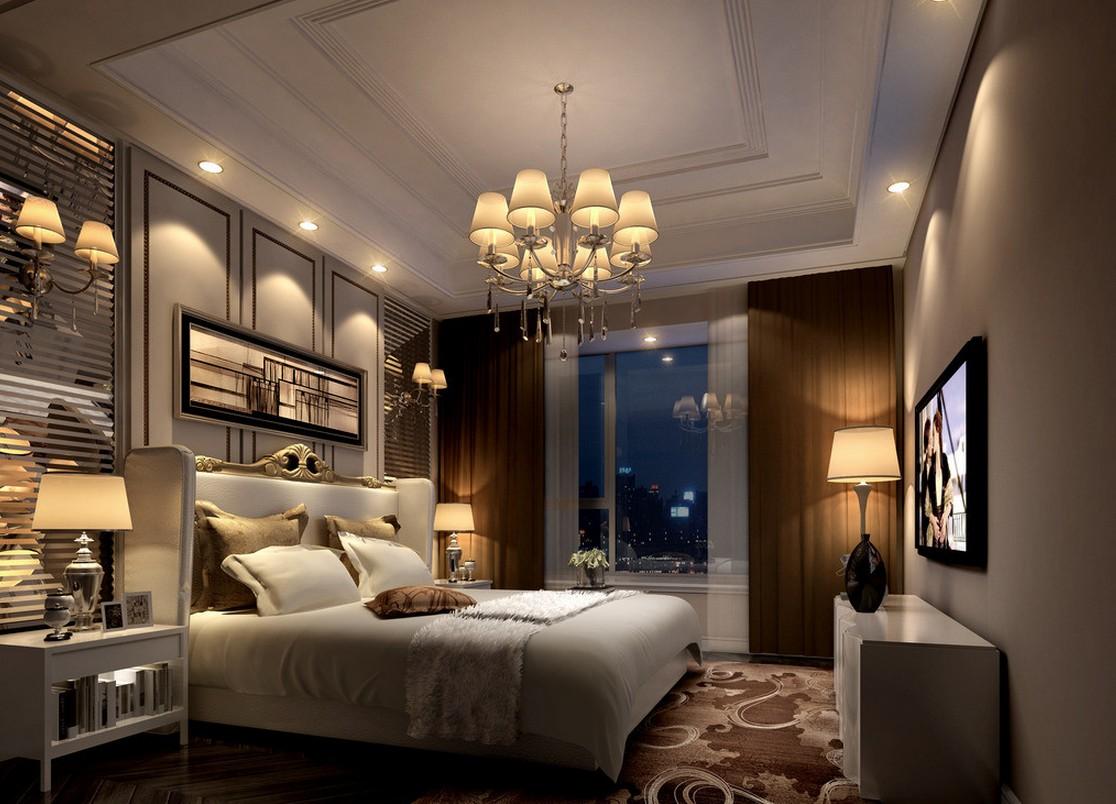 Canadian bedroom design night rendering 1116x804