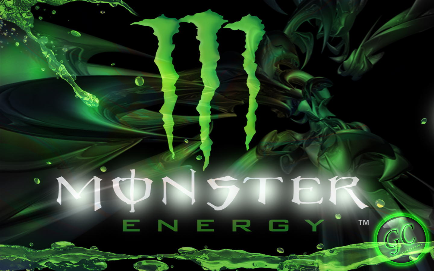 Custom Graphic Design Monster Energy Wallpaper 1440x900