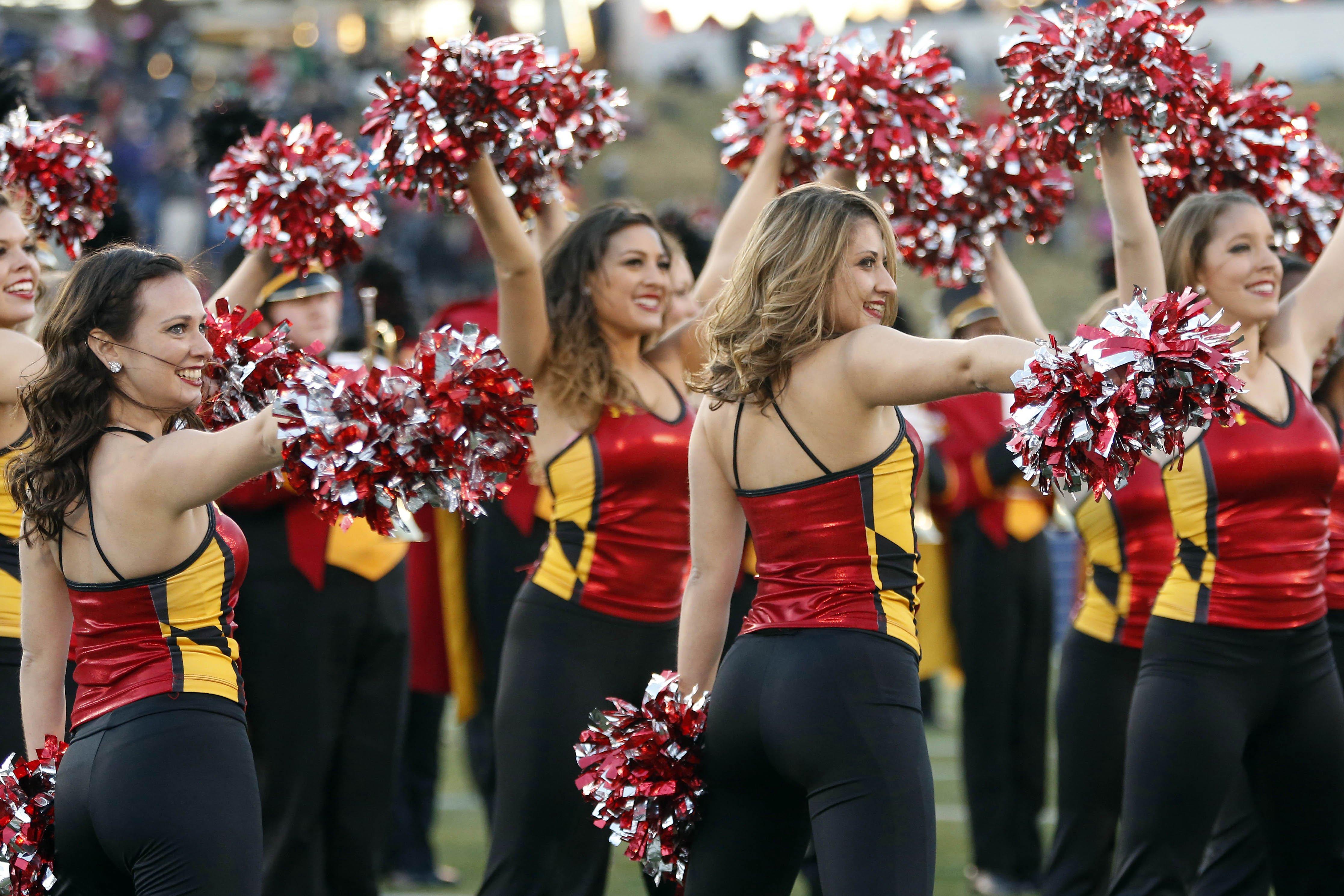 MARYLAND TERRAPINS college football cheerleader wallpaper background 4468x2979
