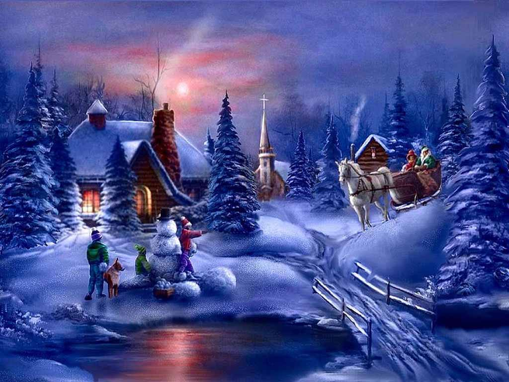 Winter Scenes for Desktop 1024x768