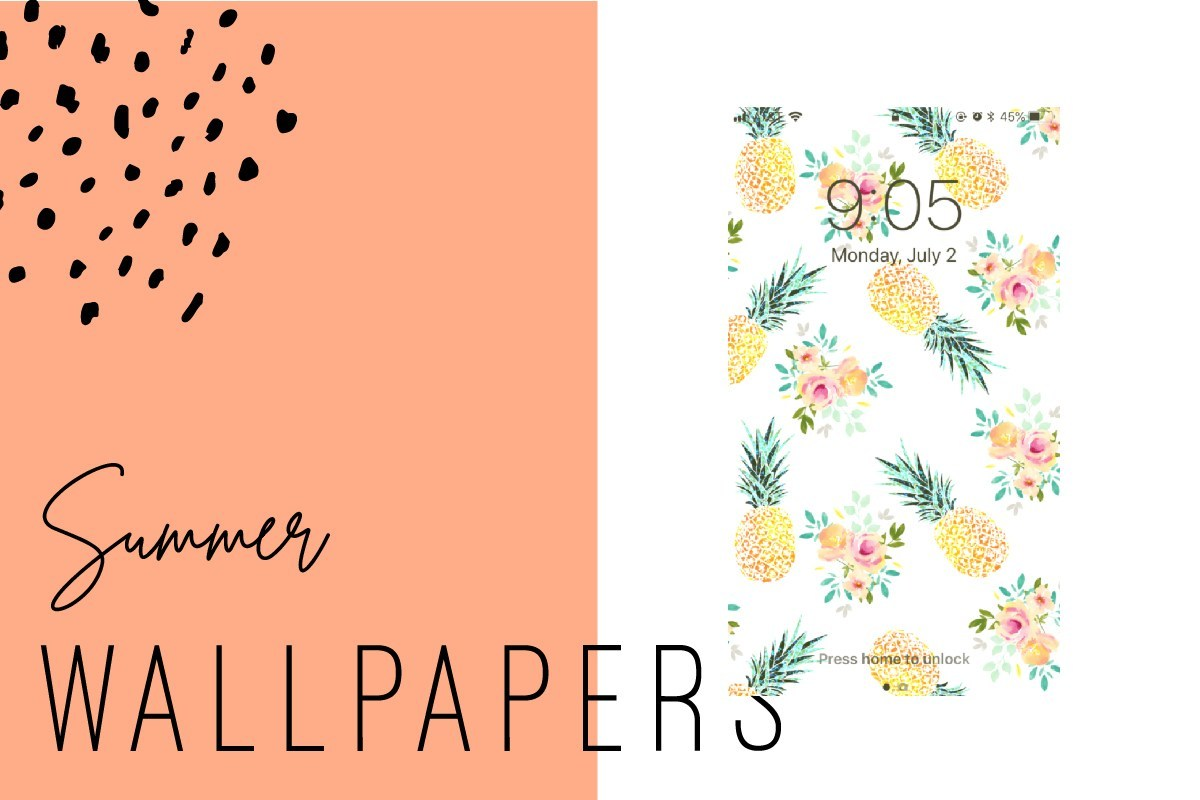Summer iPhone Wallpapers   Ginger and Ivory 1200x800