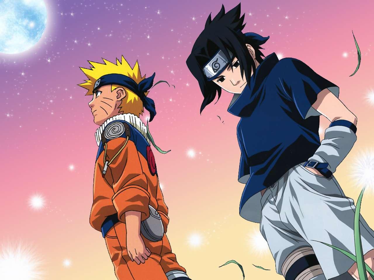 gambar naruto sasuke: naruto dan sasuke wallpaper