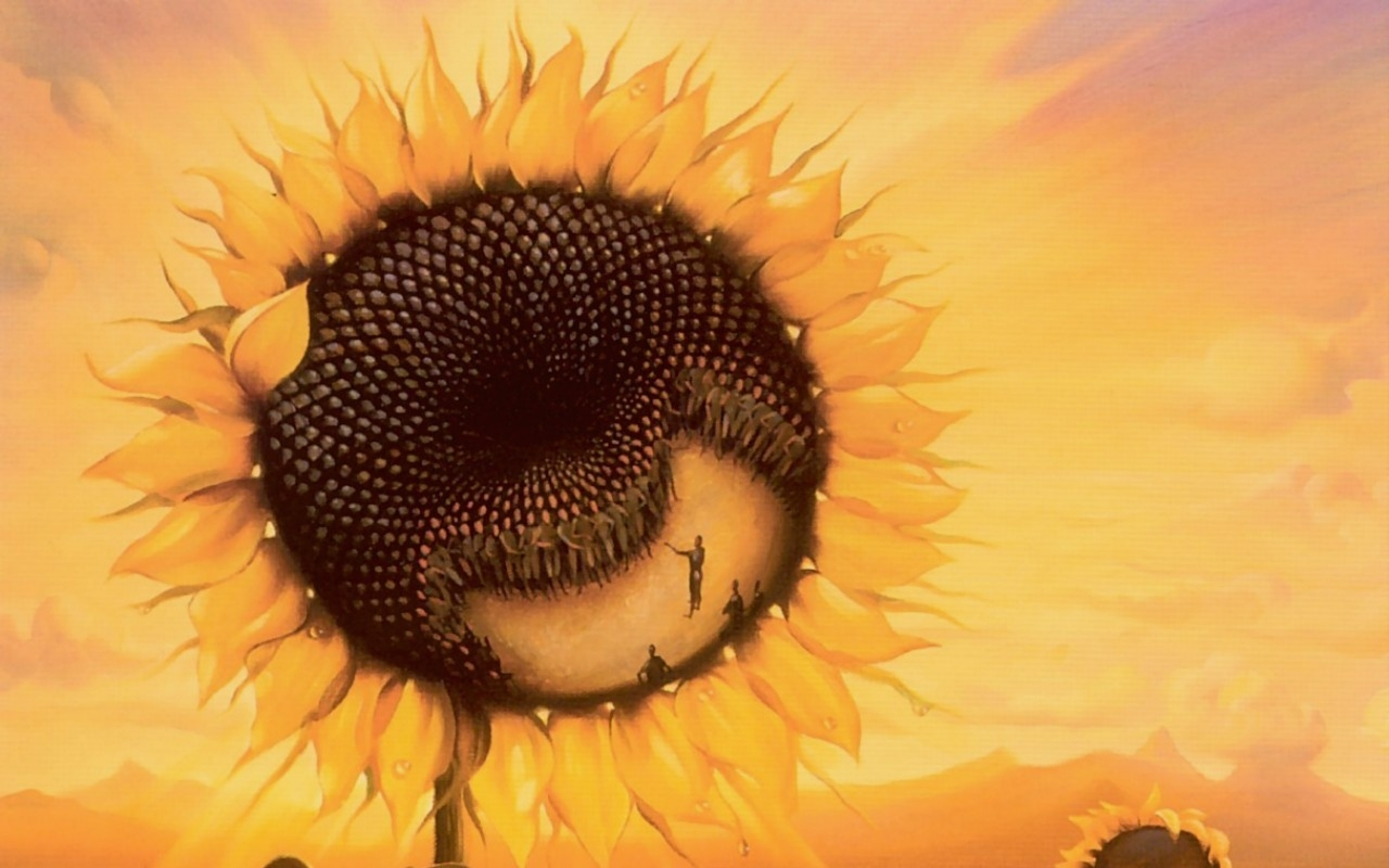 sunflowers vladimir kush 1280x1010 wallpaper Art HD Wallpaper download 2560x1600
