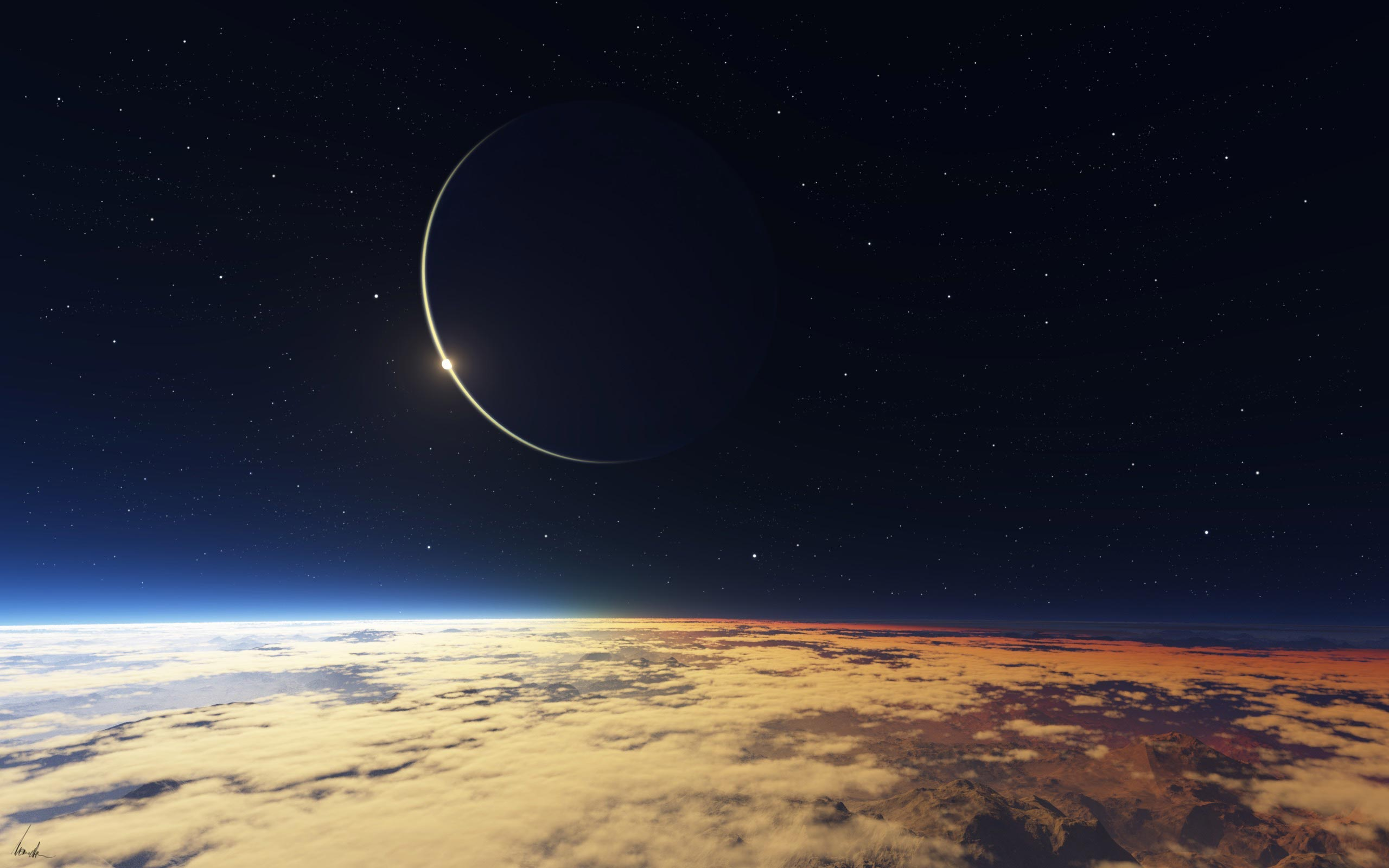 Solar Eclipse Wallpaper HD
