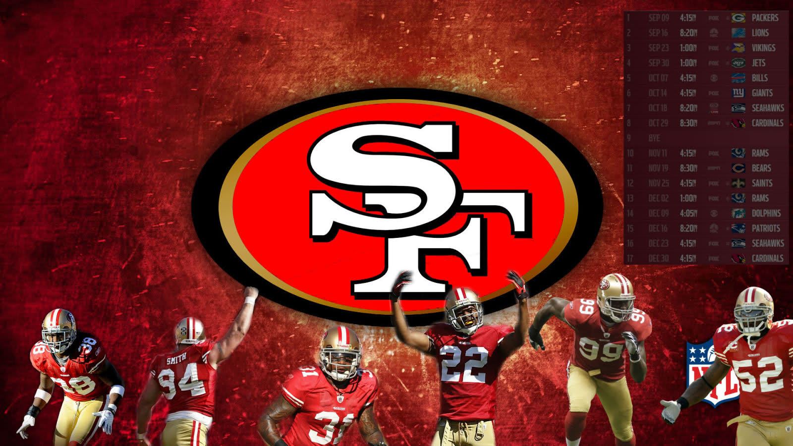49ers Wallpaper For Desktop 1600x900
