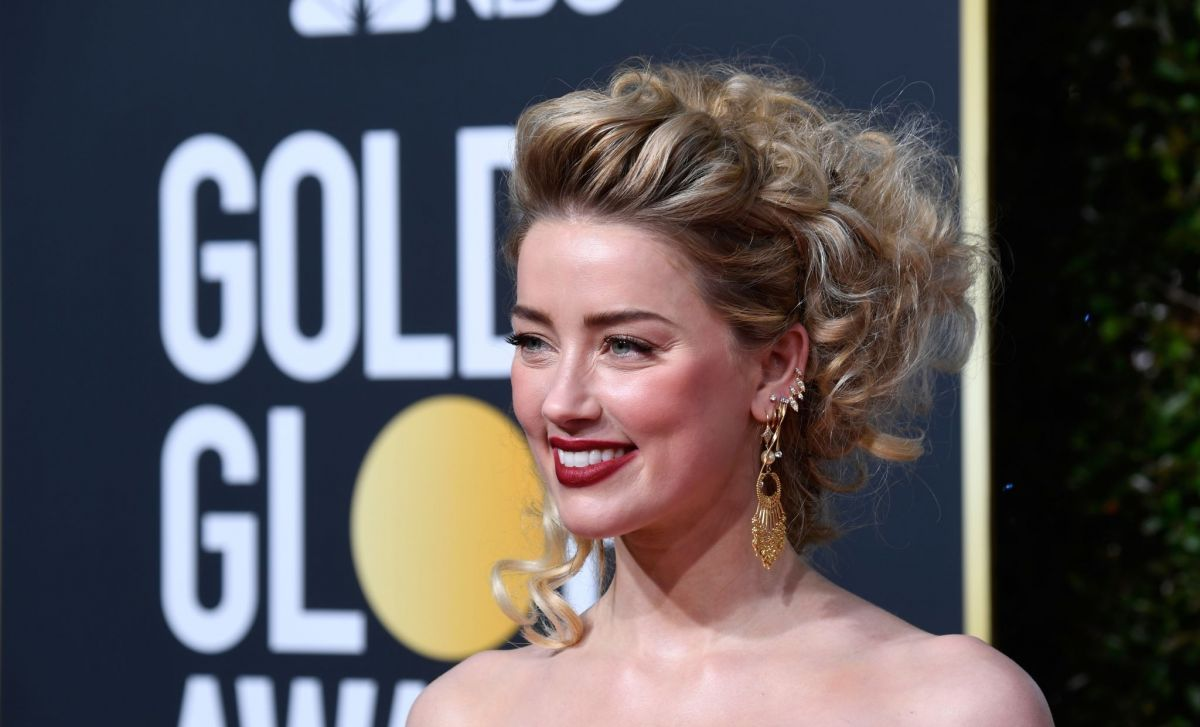 Amber Heard at 2019 Golden Globe Awards in Beverly Hills   Top 10 1200x727
