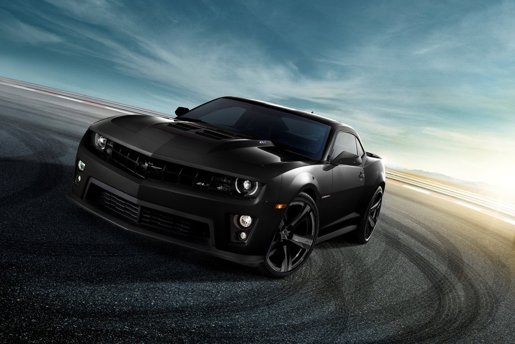 Chevrolet Camaro Black HD Wallpaper by nitinchamp 1024x683