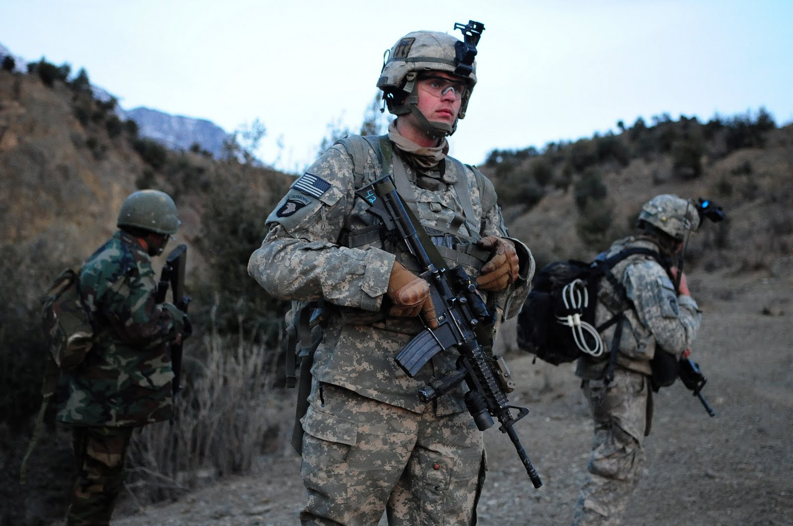 Us army infantry wallpaper 1600x1062