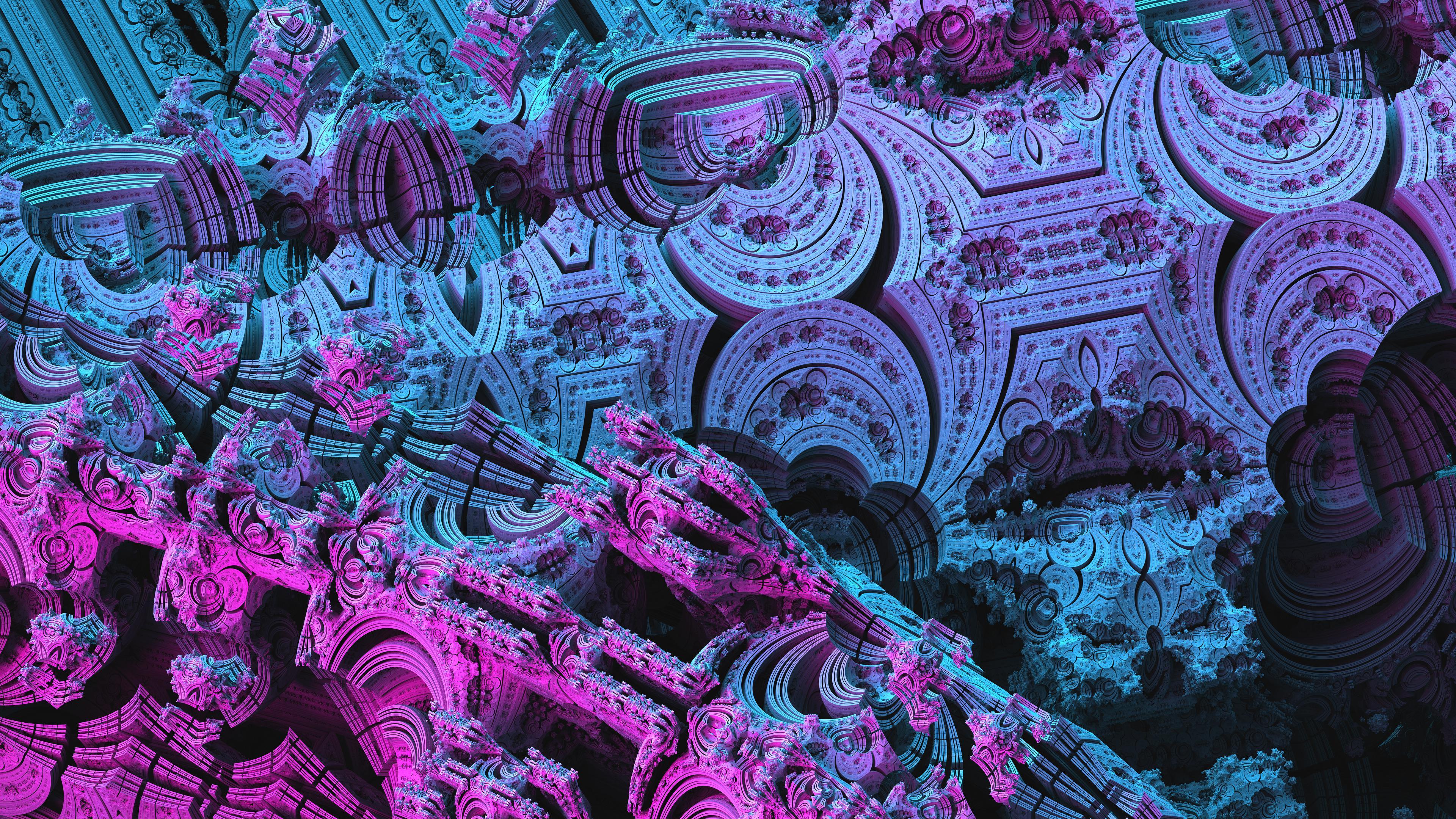 3D Fractal Wallpapers   Album on Imgur 3840x2160