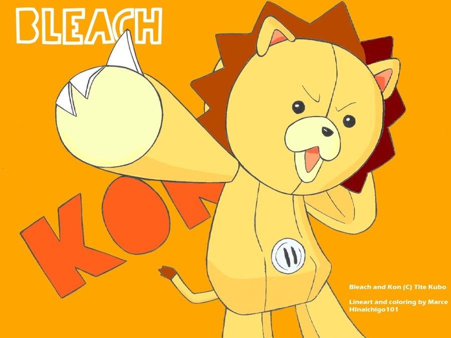 kon   Bleach Anime Wallpaper 33458933 900x675