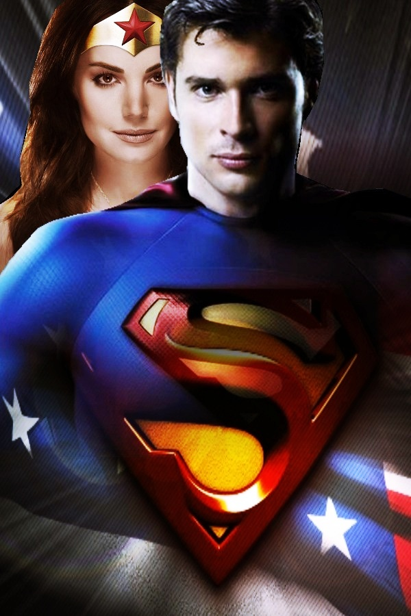 Clark and Lois as and Wonder Woman   Clois Art 600x900