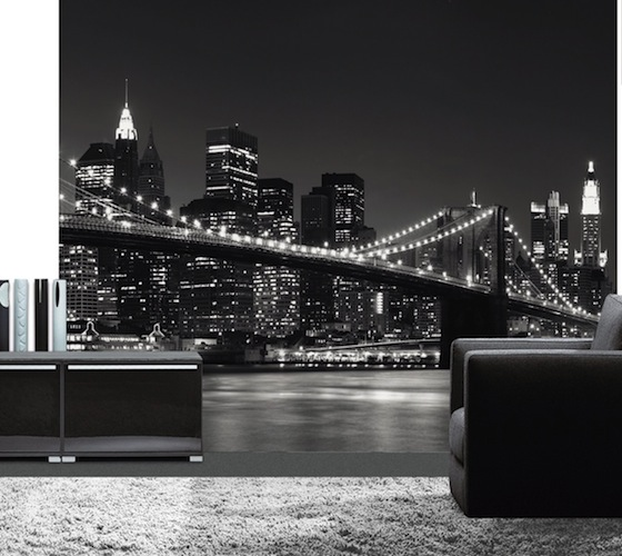 new york wall mural 52 58 usd create a dramatic feature wall in 560x500