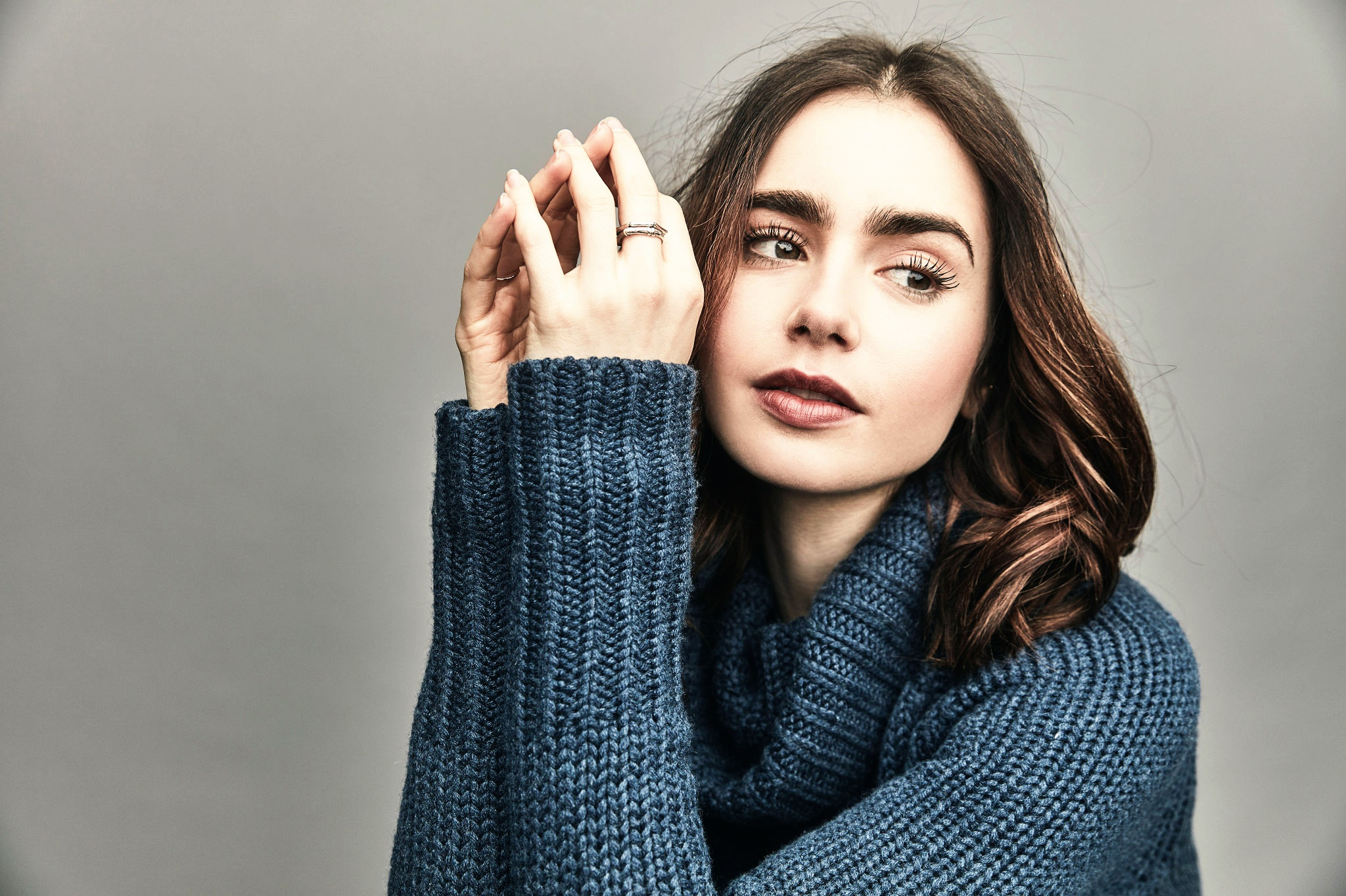 Lily Collins HD Wallpaper Background Image 2048x1365 ID 2048x1365
