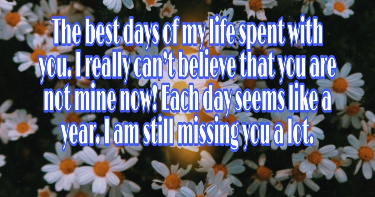 15 Best I Miss You Image for Ex Boyfriend Or Ex Girlfriend in 1200x630