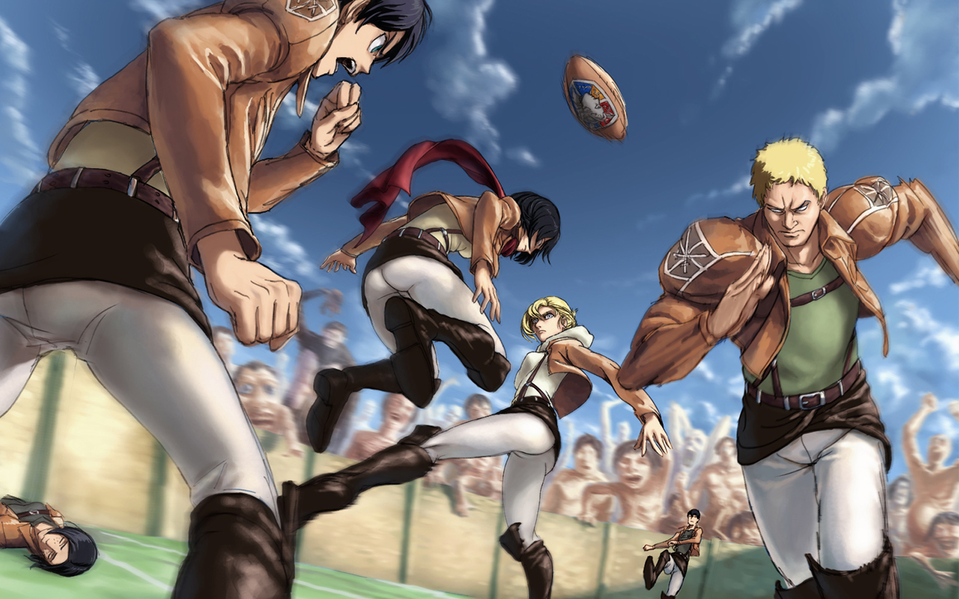 attack on titan shingeki no kyojin anime hd wallpaper image 1920x1200