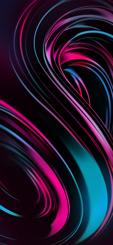 Vivo Next Dual Display Abstract Amoled Liquid Gradient in 1080x2340