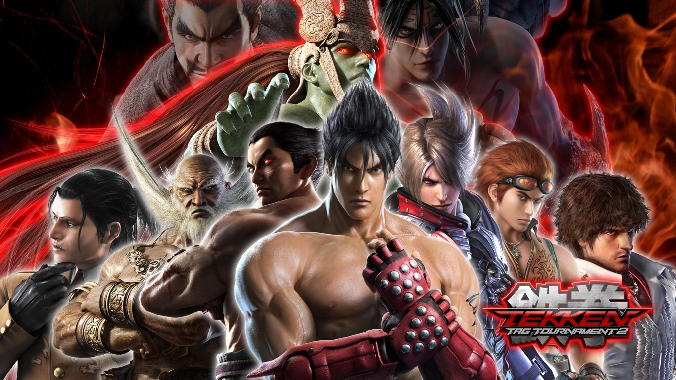 Tekken Tag Tournament 2 HD Wallpapers Backgrounds   Wallpaper 1366x768