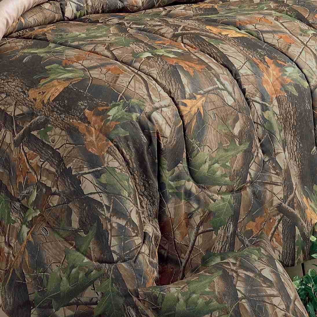 Realtree Hardwoods Forest Camouflage Bedding 1095x1095