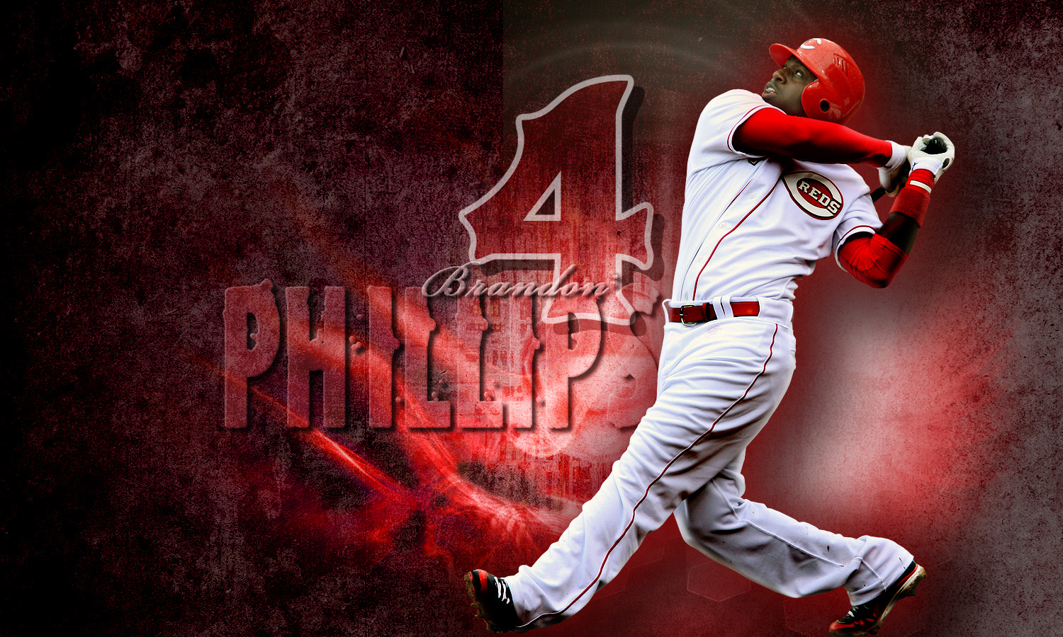 Brandon Phillips by storm19 1500 x 900 1500x900