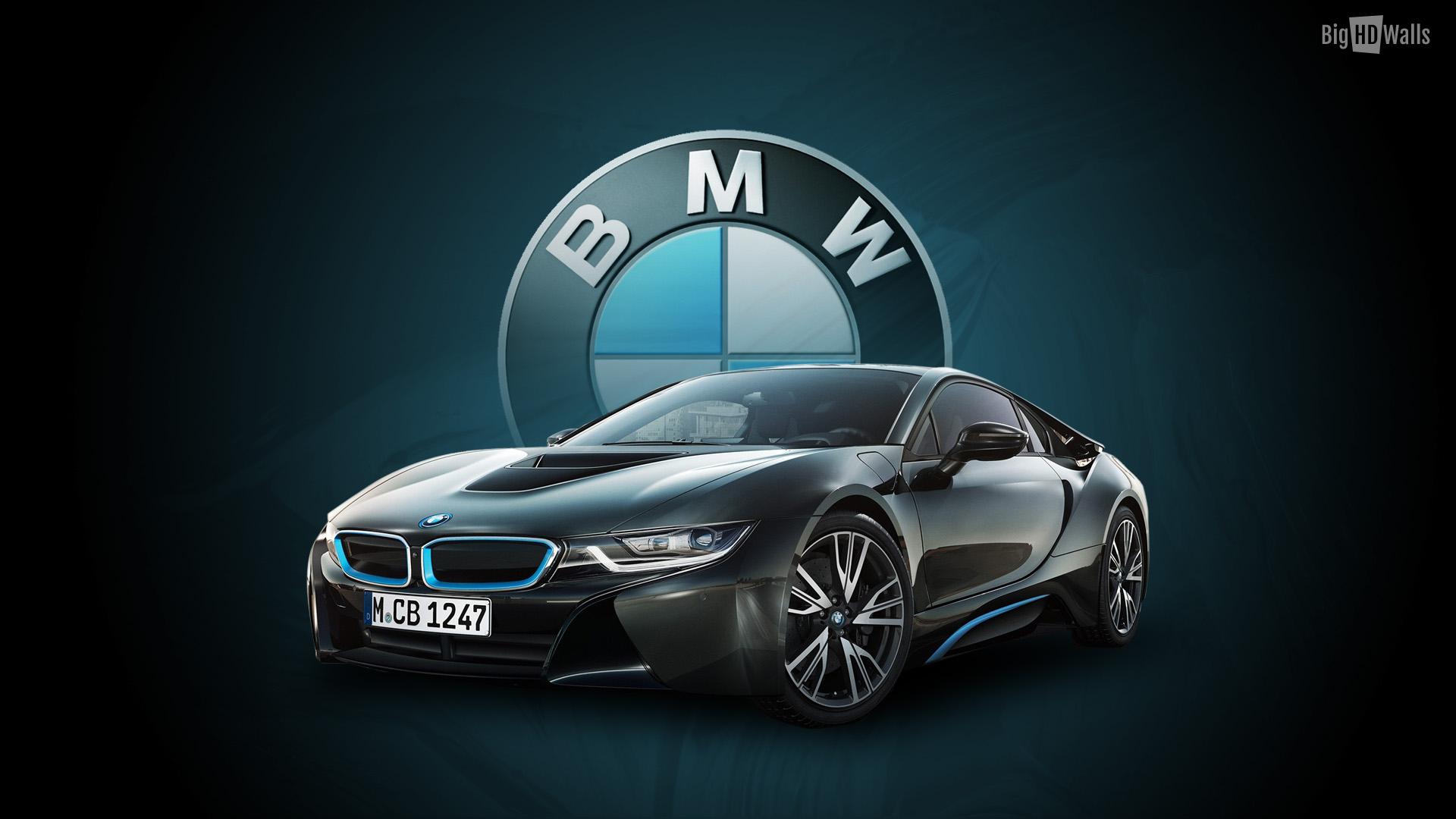 Bmw i8 concept car hd wallpaper bighdwalls