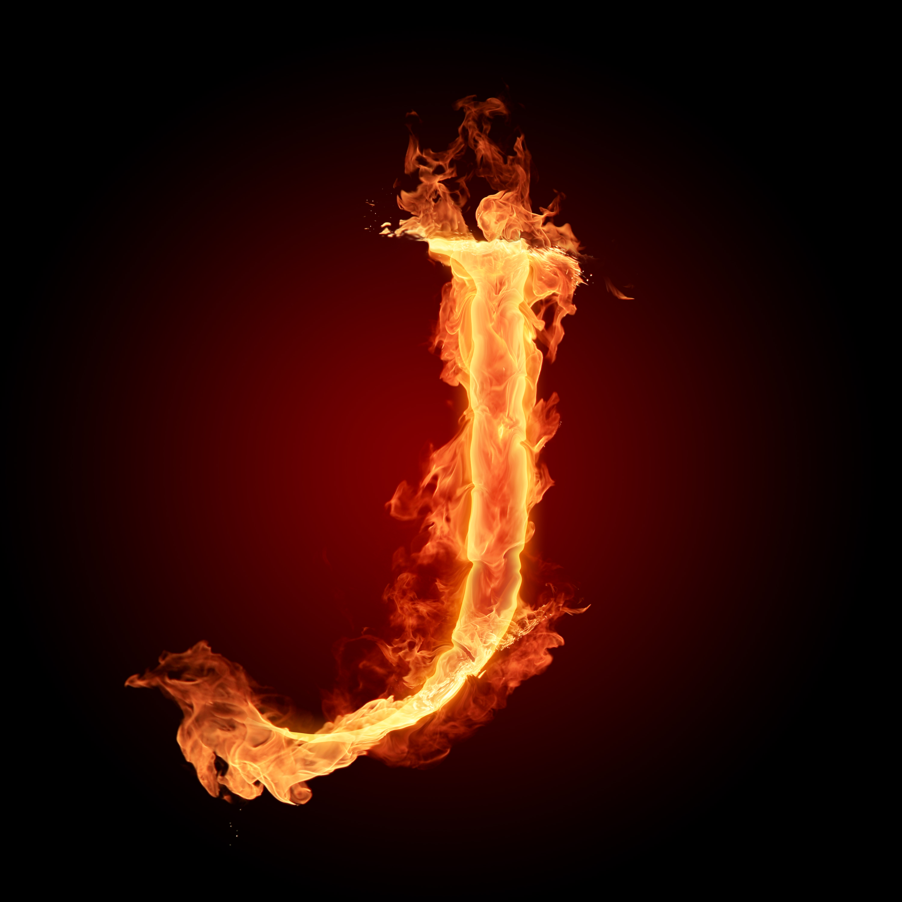 Fire Letters Wallpapers HD 3000X3000 A Z0 9   Photo 9 of 36 phombo 3000x3000