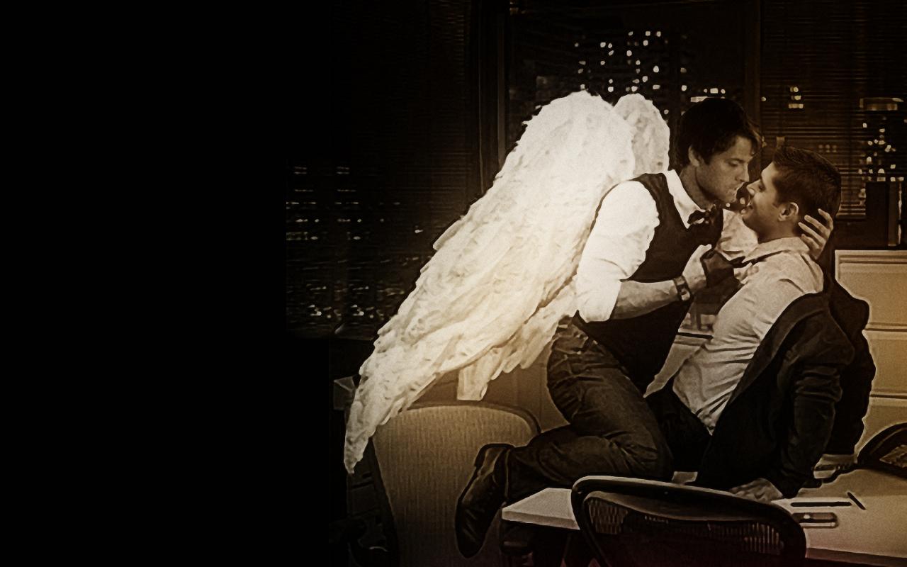 Gay Angel Wallpaper by shdwslayer 1280x800