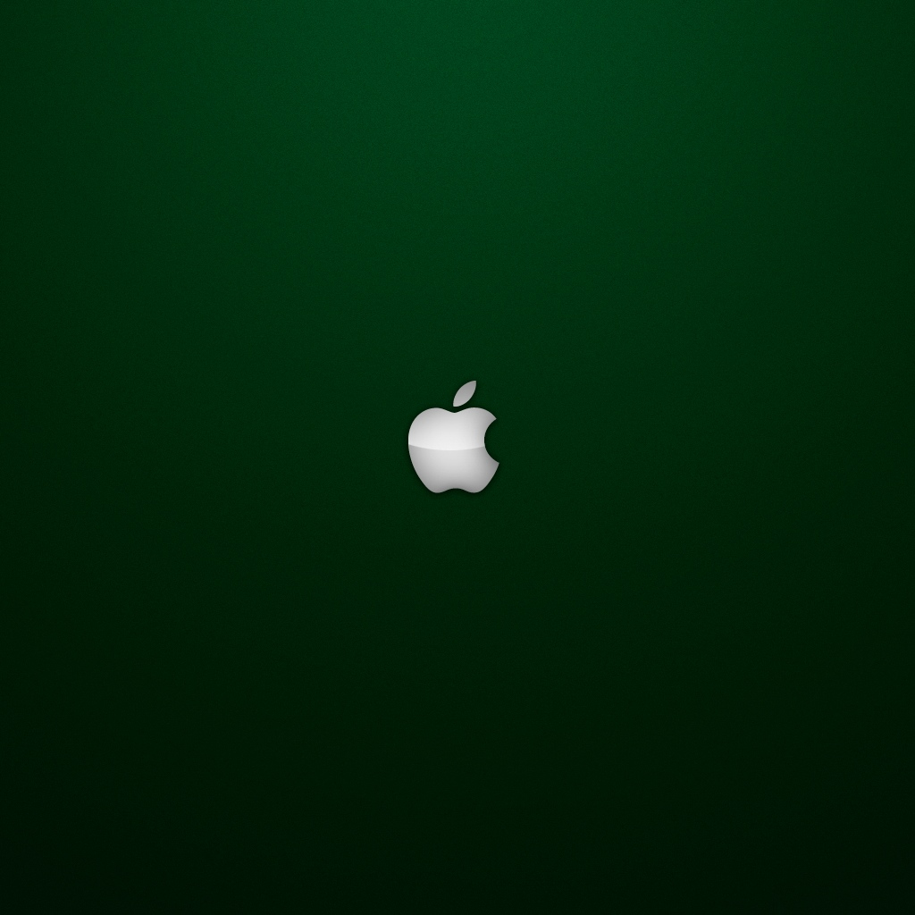 Nice Apple Logo On Black Leather Creates Amazing Ipad Wallpaper For 1024x1024