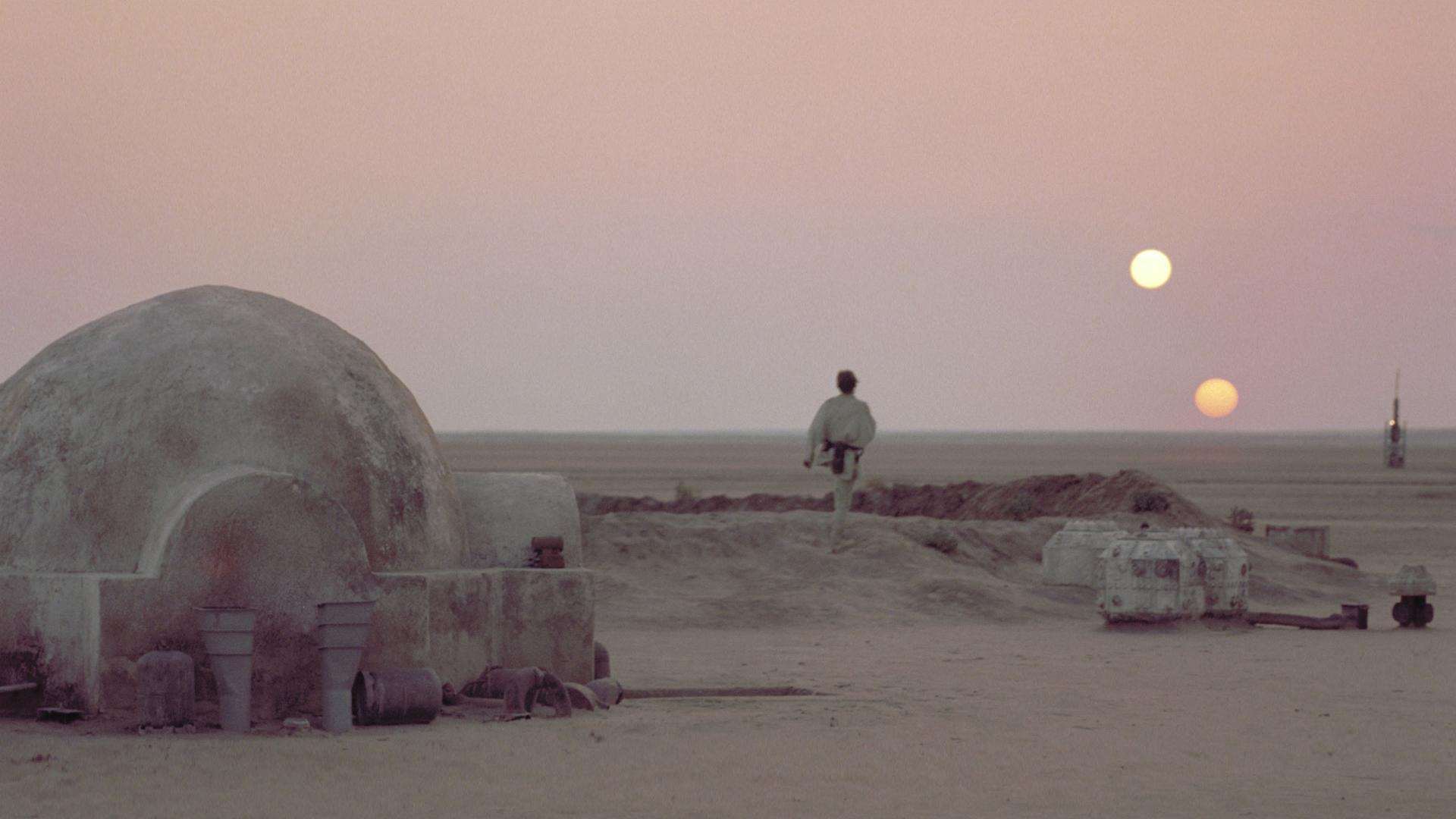 Classic Star Wars Luke on Tatooine [1920x1080] iimgurcom 1920x1080