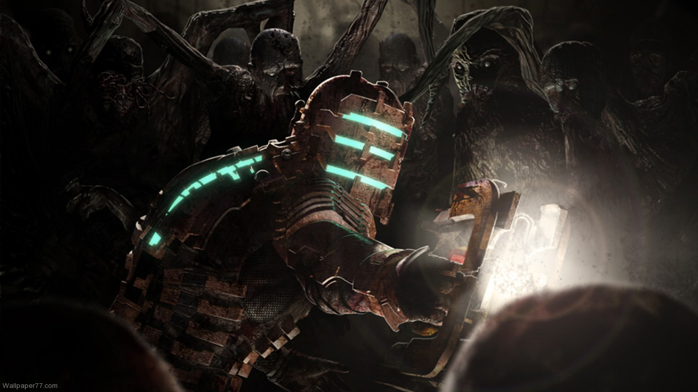 Dead Space Wallpaper 2 dead space wallpapers game wallpapers 1366x768 1366x768